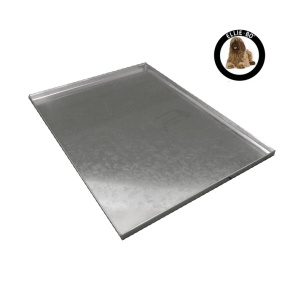 Ellie-Bo Replacement Silver Metal Tray for a 48'' Dog Cage