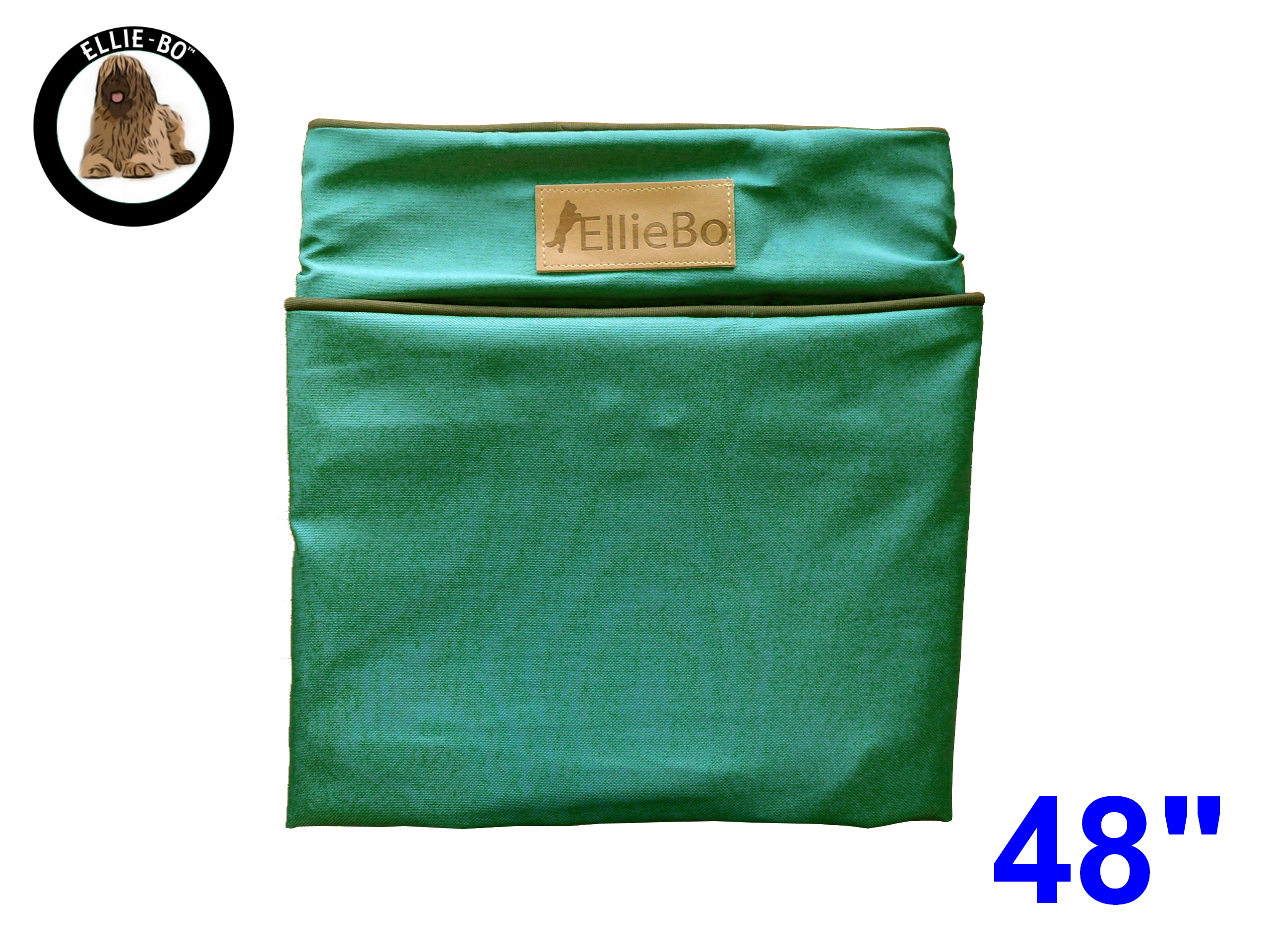 Ellie Bo Xxl Replacement Green Waterproof Dog Bed Cover