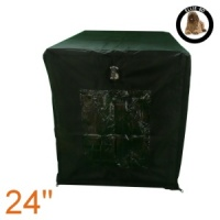 Ellie-Bo Black Waterproof Cover for a 24'' Dog Cage