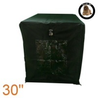 Ellie-Bo Black Waterproof Cover for a 30'' Dog Cage