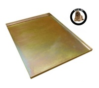 Ellie-Bo Replacement Gold Metal Tray for a 48'' Dog Cage