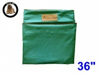 Ellie-Bo Large Replacement Green Waterproof Cover for Memory Foam Dog Beds