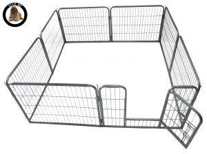 Ellie-Bo Heavy Duty 8 Piece Puppy Pen 60cm High