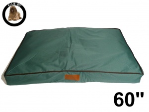 Ellie-Bo Jumbo 60 inch Green Waterproof Dog Bed