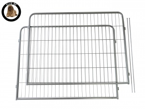 Ellie-Bo Heavy Duty 2 Piece Puppy Pen 80cm High Extra Long Expansion Pack
