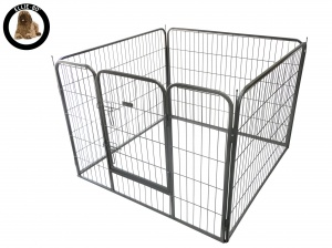 Ellie-Bo Heavy Duty 4 Piece Extra Long Puppy Pen 80cm High