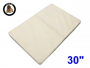 Ellie-Bo Medium Replacement Memory Foam Bed Liner to fit 30 inch Memory Foam Dog Bed