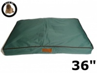 Ellie-Bo Large Green Waterproof Dog Bed to fit 36 inch Dog Cage