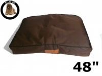 Ellie-Bo XXL Brown Waterproof Dog Bed to fit 48 inch Dog Cage