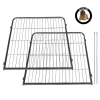 Ellie-Bo Heavy Duty 2 Piece Puppy Pen 80cm High Expansion Pack