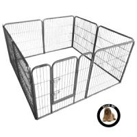 Ellie-Bo Heavy Duty 8 Piece Puppy Pen 80cm High