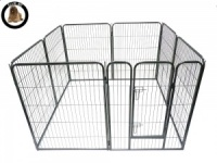 Ellie-Bo Heavy Duty 8 Piece Puppy Pen 100cm High