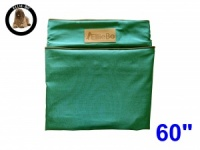 Ellie-Bo Jumbo 60 inch Replacement Green Waterproof Dog Bed Cover