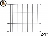 Ellie-Bo Black Cage Divider for a 24'' Dog Cage