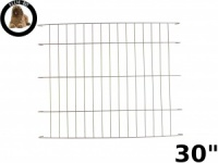 Ellie-Bo Gold Cage Divider for a 30'' Dog Cage