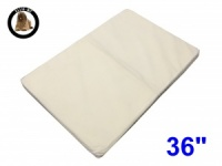 Ellie-Bo Large Replacement  Memory Foam Bed Liner to fit 36 inch Memory Foam Dog Bed