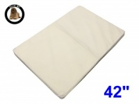 Ellie-Bo Extra Large Replacement Memory Foam Bed Liner to fit 42 inch Memory Foam Dog Bed